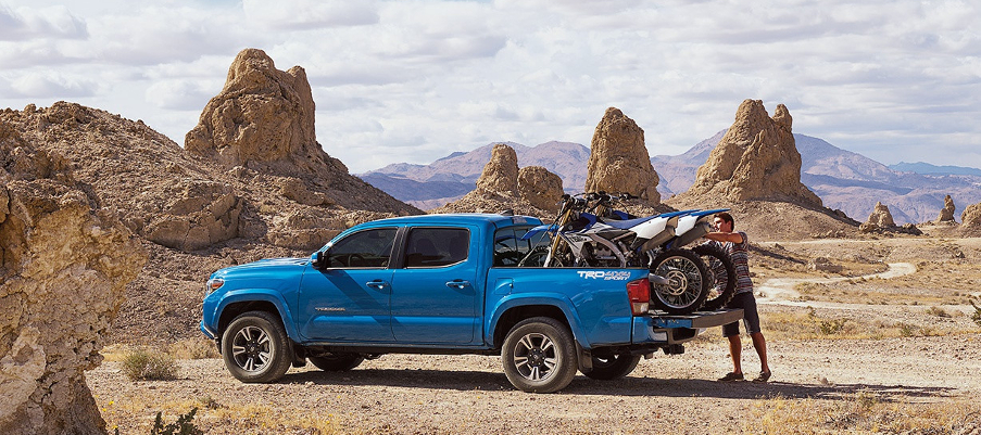 Taking a bike trip with the Tacoma