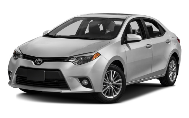 2016 Toyota Corolla Front Gray