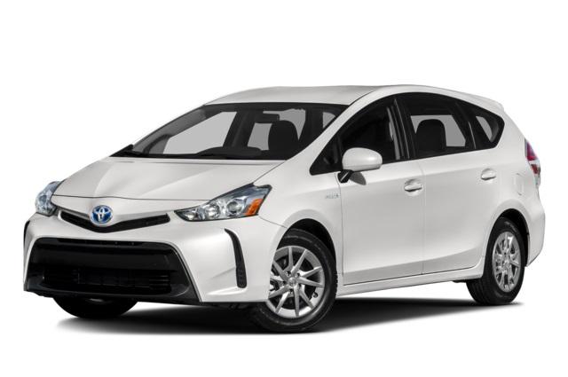 2016 Toyota Prius V Front White
