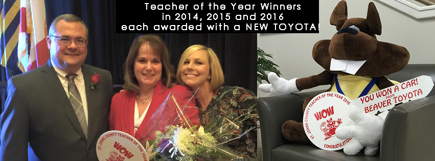Teacher of the Year Winners