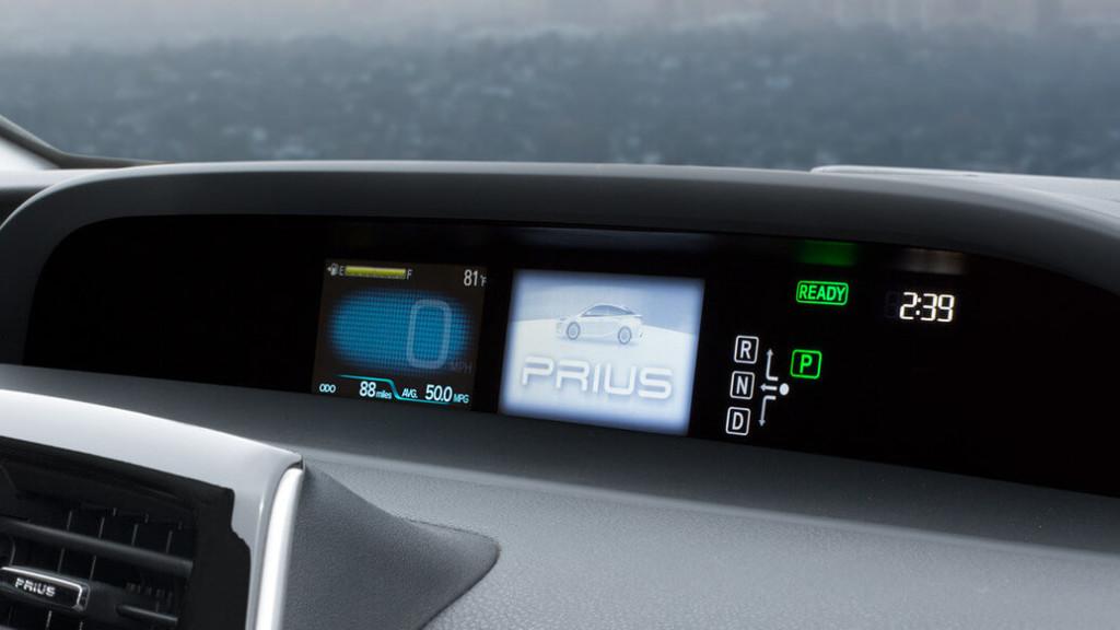2016 Toyota Prius Multi-Information Display