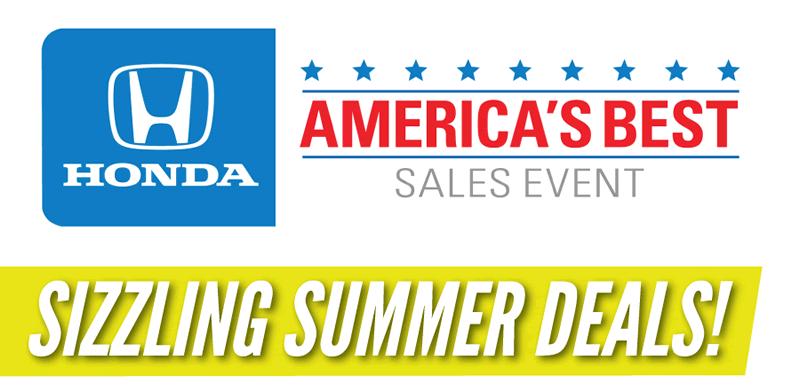 Honda Summer Sale