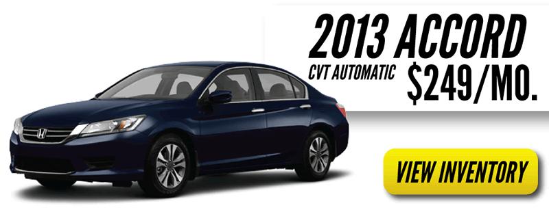 Honda Summer Sale on Accords
