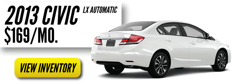 Honda Summer Sale on Civic