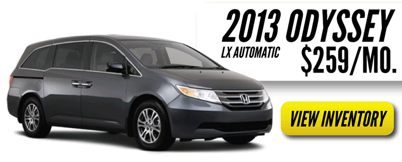 Honda Summer Sale on Odyssey