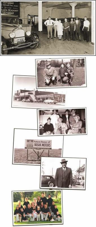 Bosak Family History