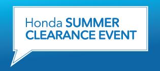 Summer Clearance