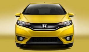 2015 Honda Fit Yellow