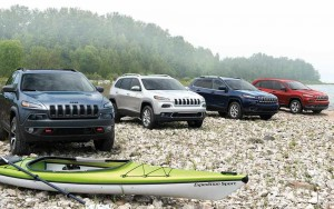 2014 Jeep Cherokee Models