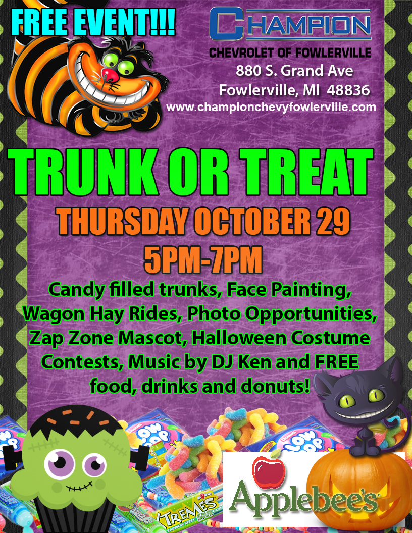 FOW TRUNK OR TREAT