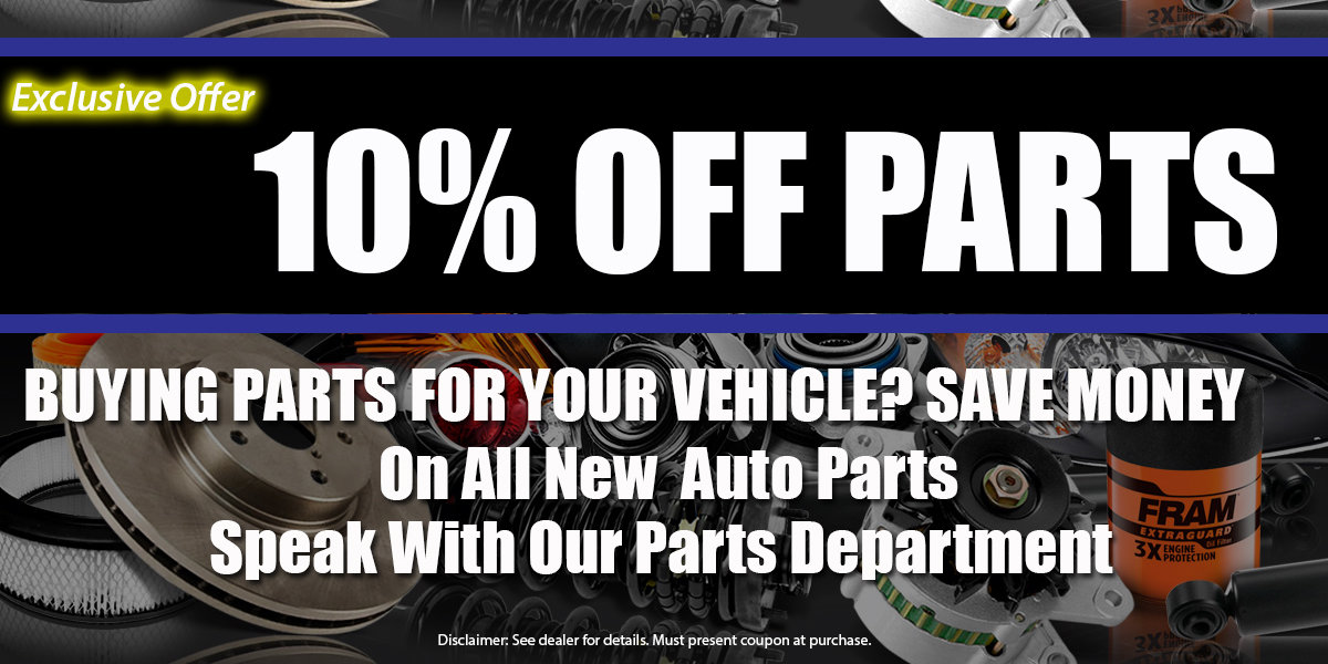 10% PARTS COUPON Fowlerville
