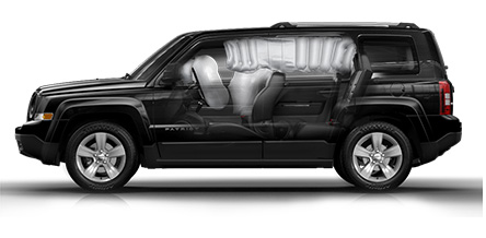 2015 Jeep Patriot side air bags