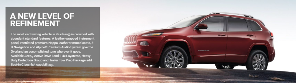 All New Jeep Cherokee At Champion Chrysler Jeep Dodge Ram In Lansing, MI