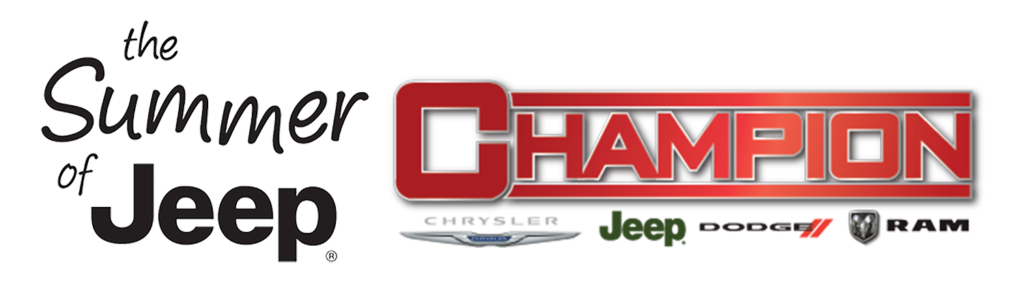 The Summer of Jeep at Champion Chrysler Jeep Dodge Ram in Lansing MI
