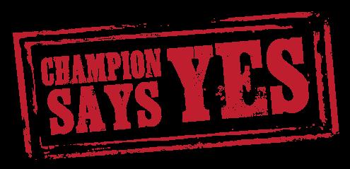 Champion Says Yes Lansing M