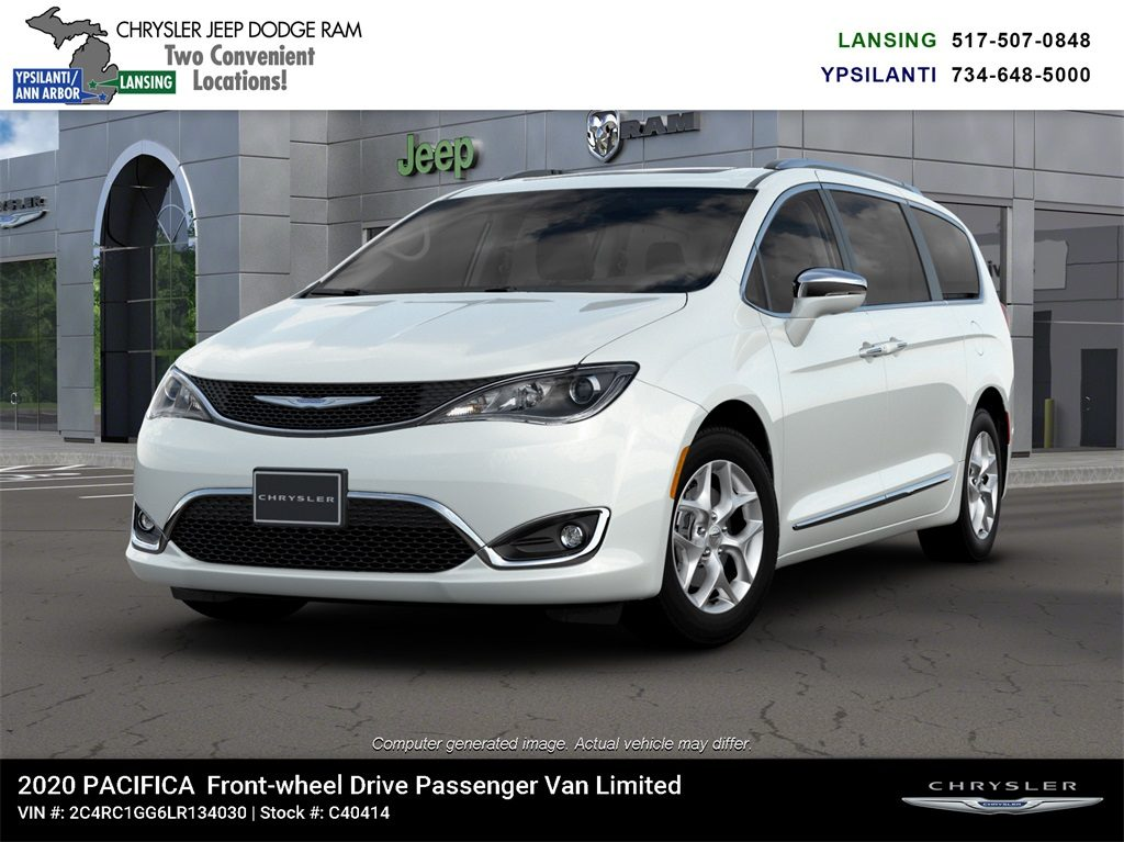2020 Chrysler Pacifica Limited Lease Offer In Lansing