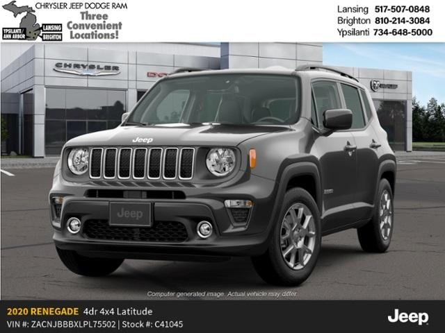 2020 Jeep Renegade Altitude 4x4 Lease Offer In Lansing