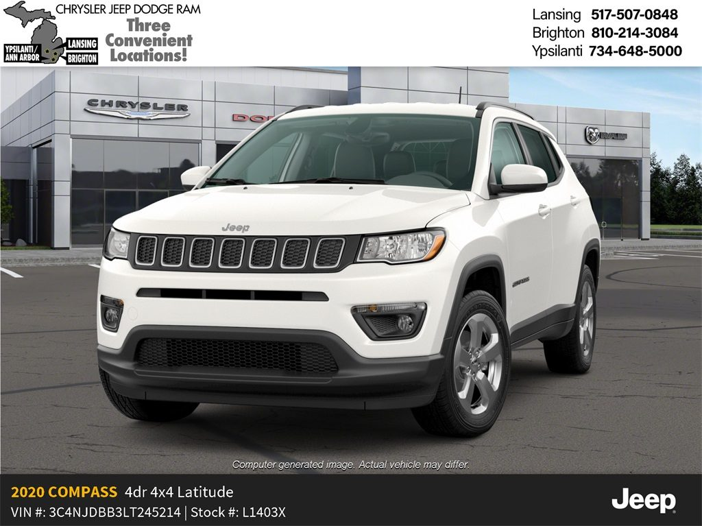 2020 Jeep Compass Latitude 4x4 Lease Offer In Lansing