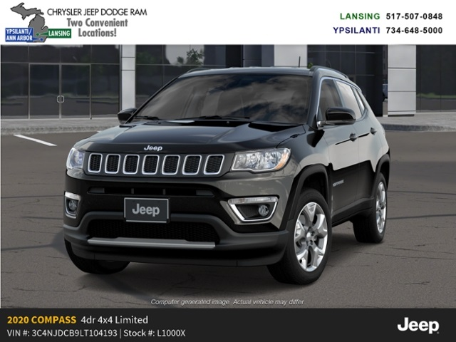 2020 Jeep Compass Limited 4x4 Lease Offer In Lansing