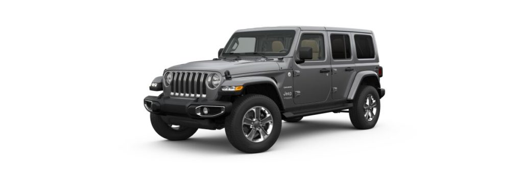 2021 Jeep Wrangler Sahara Unlimited Lease Offer