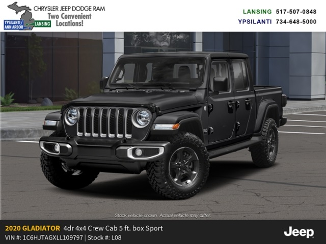 2020 Jeep Gladiator Sport S 4x4 Lease Offer In Lansing