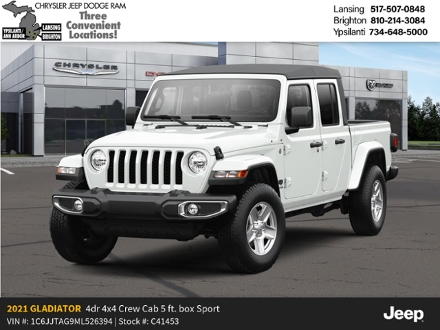 2021 Jeep Gladiator Sport S 4x4 Lease Offer