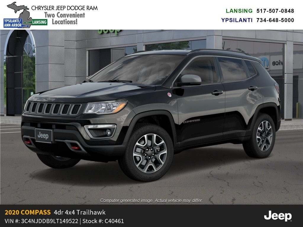 2020 Jeep Compass Trailhawk 4x4 Lease Offer In Lansing