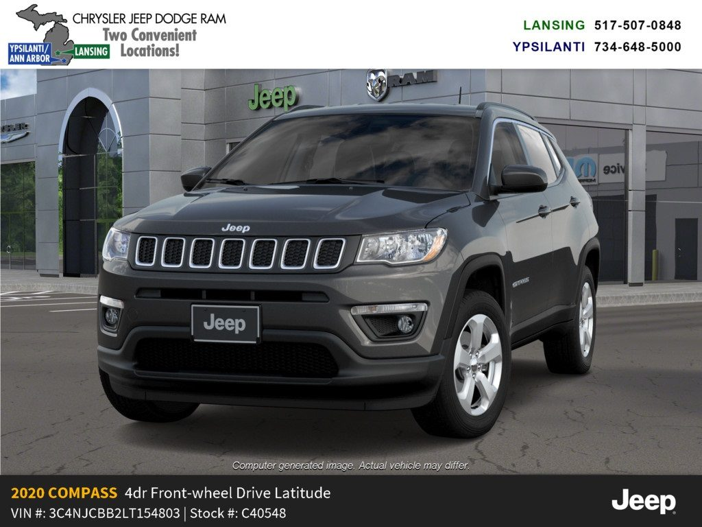 2020 Jeep Compass Latitude Lease Offer Lansing