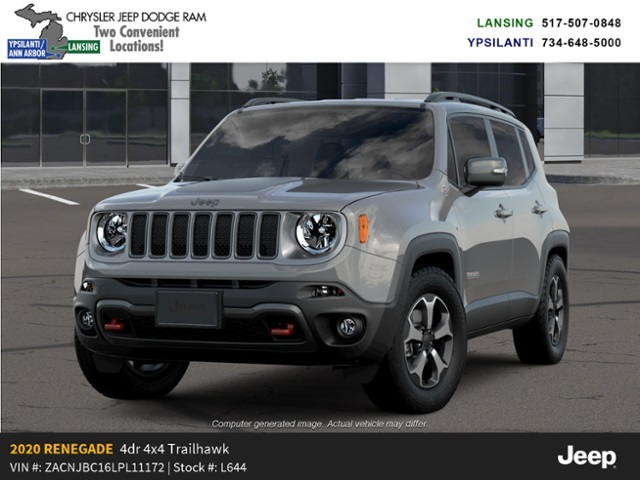 2020 Jeep Renegade Trailhawk 4x4 Lease Offer In Lansing