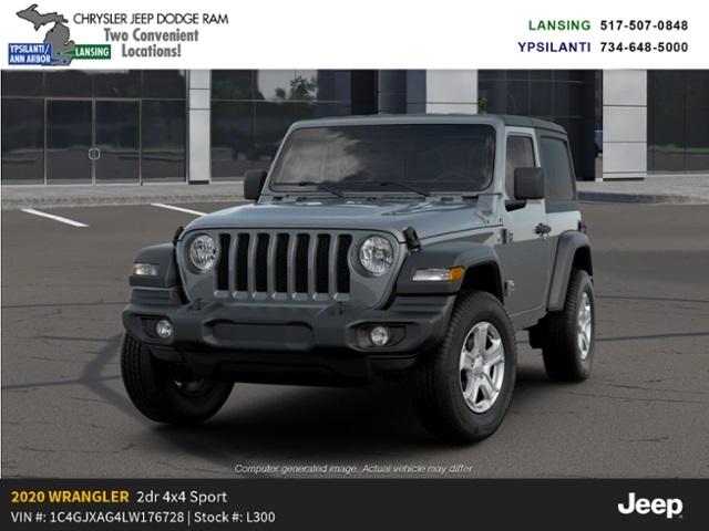 2020 Jeep Wrangler Sport S 4x4 Lease Offer In Lansing