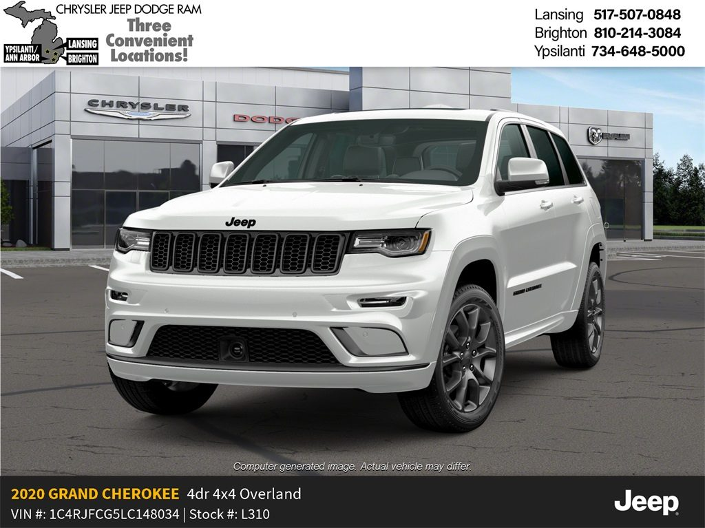 2020 Jeep Grand Cherokee High Altitude 4x4 Lease Offer In Lansing