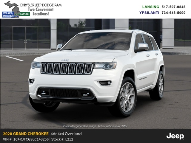 2020 Jeep Grand Cherokee Overland 4x4 Lease Offer In Lansing