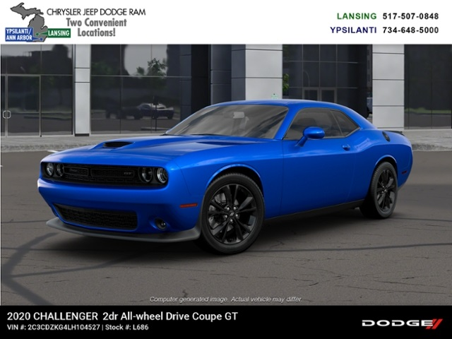 2020 Dodge Challenger GT AWD Lease Offer In Lansing