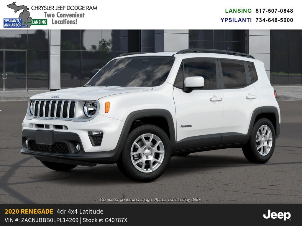 2020 Jeep Renegade Latitude 4x4 Lease Offer In Lansing