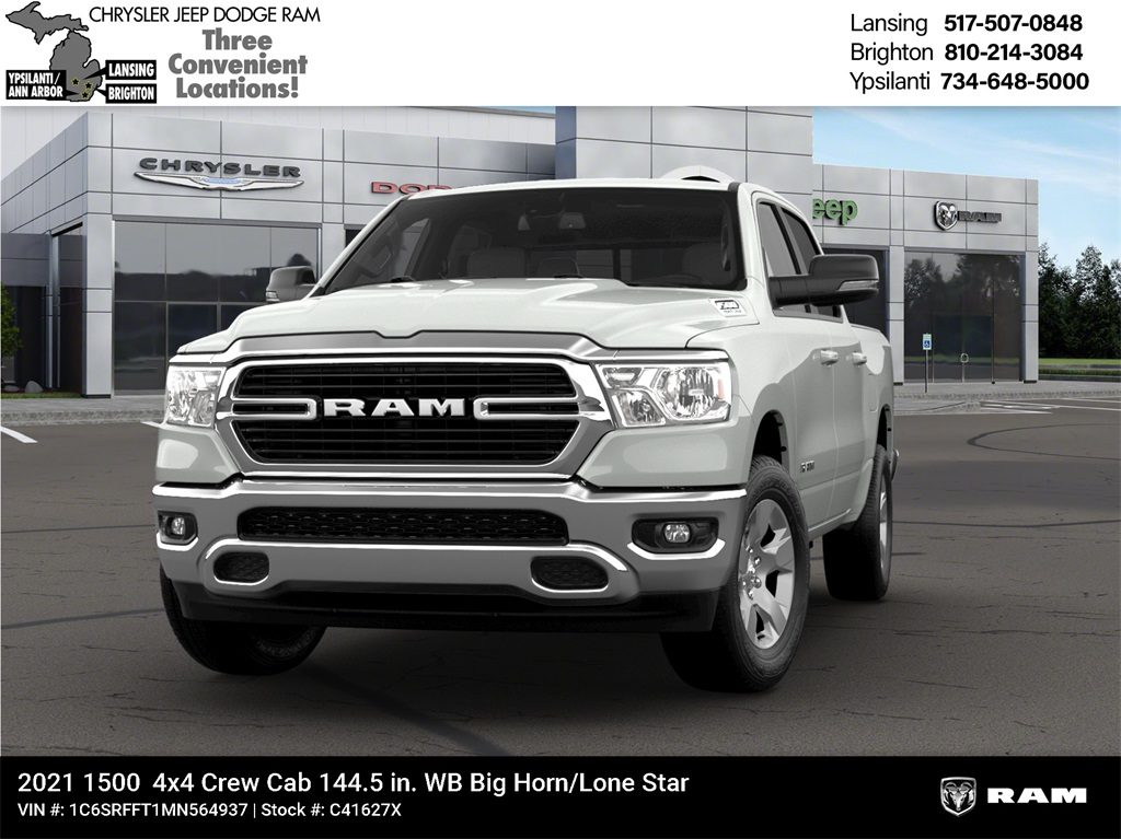2021 Ram 1500 DT Big Horn Crew Cab 4x4 Lease Offer