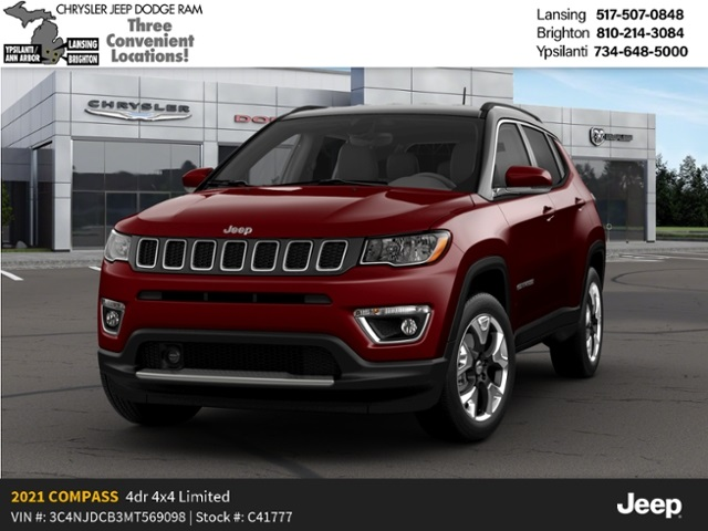 2021 Jeep Compass Limited Lease Offer
