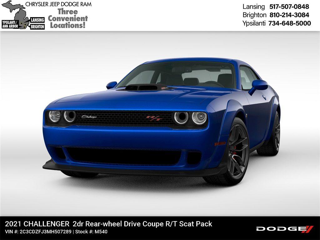 2021 Dodge Challenger RT Scat Pack Lease Offer