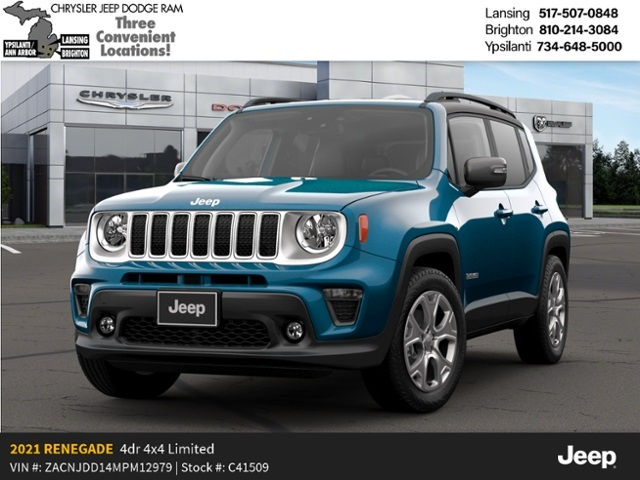 2021 Jeep Renegade Limited 4x4 Lease Offer