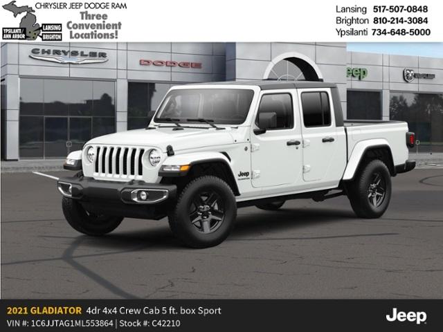 2021 Jeep Gladiator Sport Altitude Lease Offer