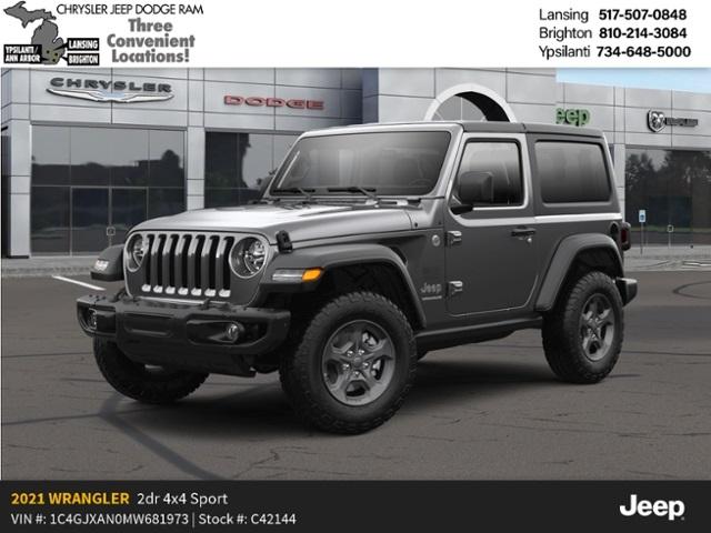 2021 Jeep Wrangler Sport 2 Door Lease Offer