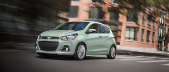 2017 Chevy Spark driving