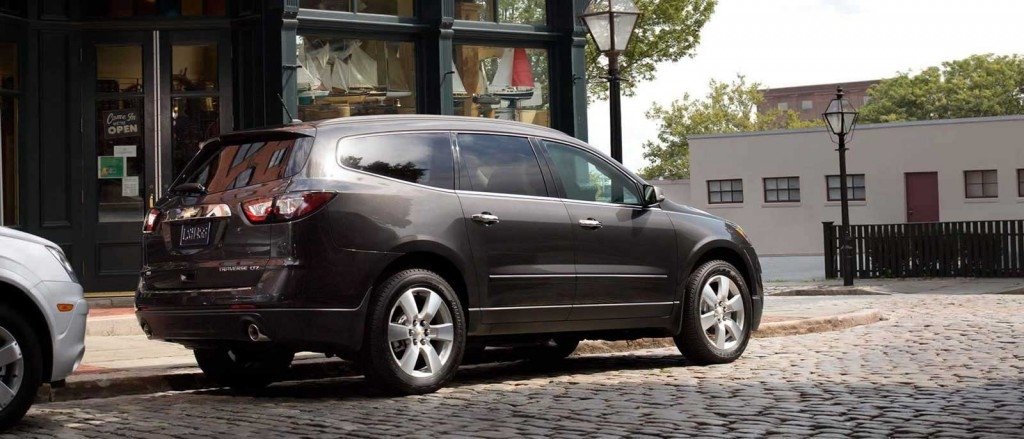 2015 Chevrolet Traverse side view