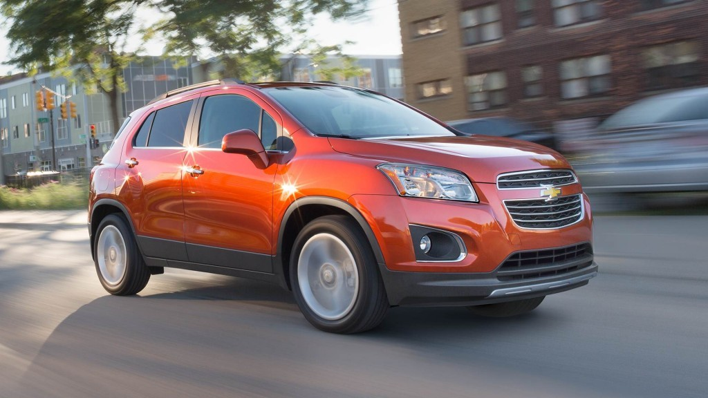 The 2016 Chevrolet Trax Receives A 5 Star Safety Rating