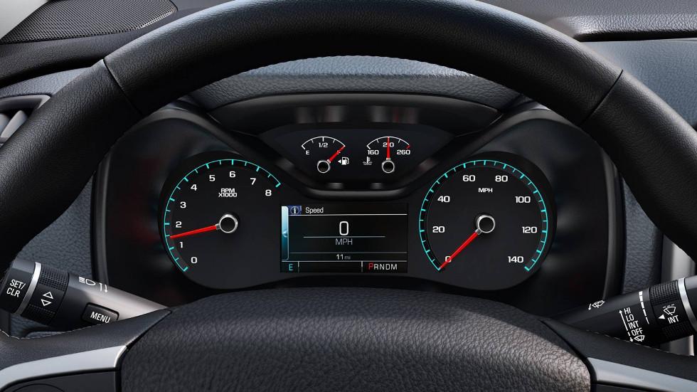 2016 Chevrolet Colorado driver information center