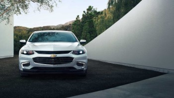 2016 Chevy Malibu parked