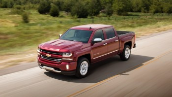 2016 Chevy Silverado driving