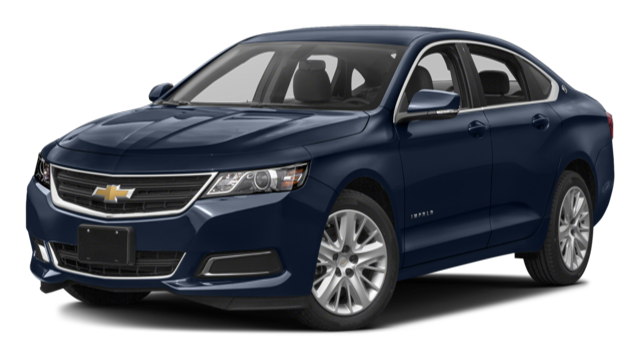 2017 Chevy Impala Blue