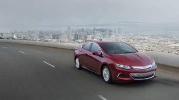 2017 Chevy Volt driving