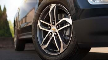 Chevy Tire closeup