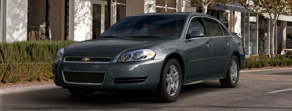 2013 Chevy Impala parked